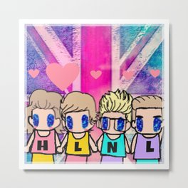 One Direction-18 Metal Print