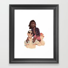 don't you worry your pretty little head Framed Art Print