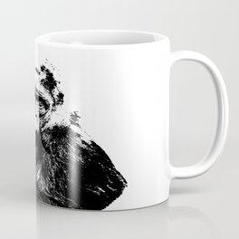 Gorilla In A Pensive Mood Portrait #decor #society6 Coffee Mug
