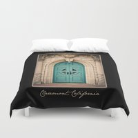 pony Duvet Covers featuring Pretty Pony by Sparrow House Photography