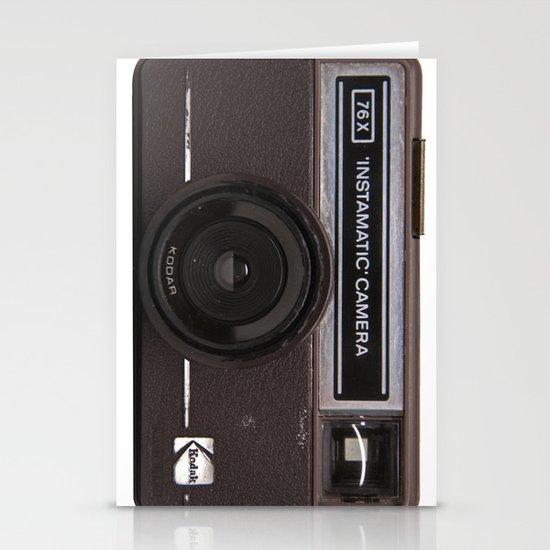 Instamatic Camera 2 Stationery Cards