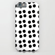 Copijn Black & White Dots iPhone 6s Slim Case