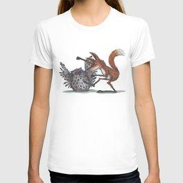 Owl & Fox dancing T-shirt