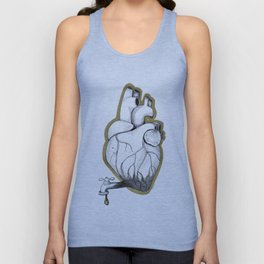 Pouring it all out Unisex Tank Top