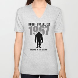 Believe in the Legend of 67 Unisex V-Neck