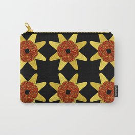 Golden Flower Of Missiles Carry-All Pouch