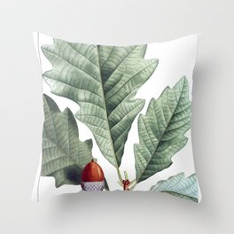 Swamp White Oak Throw Pillow