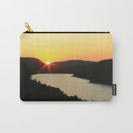 Sunrise over Lake of the Clouds Carry-All Pouch