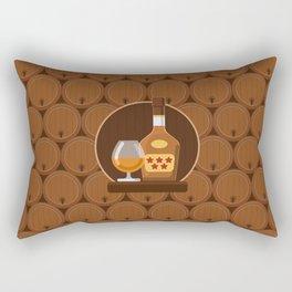 Cognac Rectangular Pillow