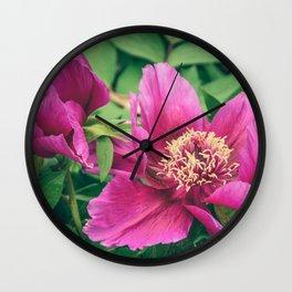 Peonia Wall Clock