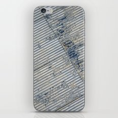 Warehouse District -- Rustic Farm Chic Abstract iPhone & iPod Skin
