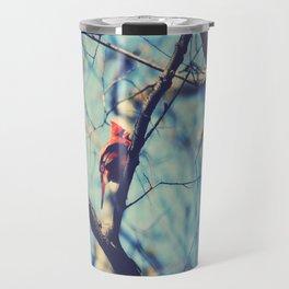 Winter Sonnet Travel Mug