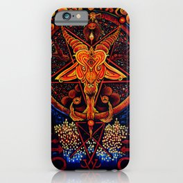 Worship No One iPhone Case