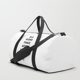 Big Signs Duffle Bag