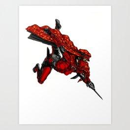 Zauba flies Art Print