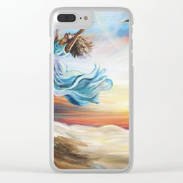 Thou Art Loosed Clear iPhone Case