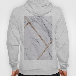Rose Golden classic marble Hoody