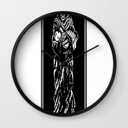 Life-and-Death Wall Clock