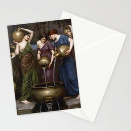 Danaides by  John William Waterhouse Stationery Cards
