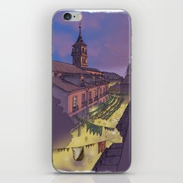 Medieval Fair (color) iPhone Skin