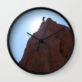 Colorado Climber Wall Clock