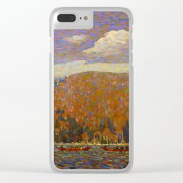 Tom Thomson The Pointers Canadian Landscape Artist Clear iPhone Case