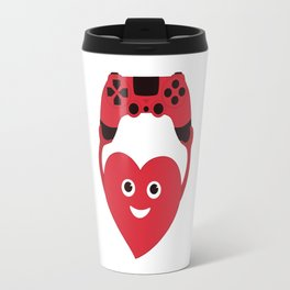 Gaming Heart Travel Mug