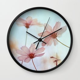 Dancing in the Wind / Valentine's Day Card Wall Clock