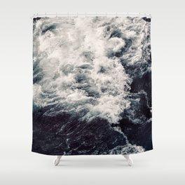 Rush of Waves Shower Curtain