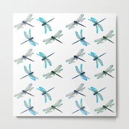 Dragonflies 4. Metal Print