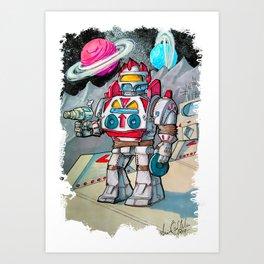 RETROBOT Art Print