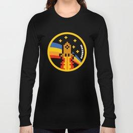 DogeCoin Up Rocket Long Sleeve T-shirt