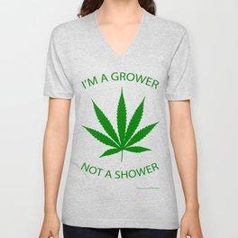 Marijuana Dispensary Legal Weed Unisex V-Neck