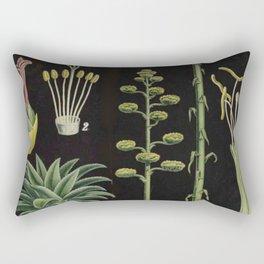 Botanical Pineapple Rectangular Pillow