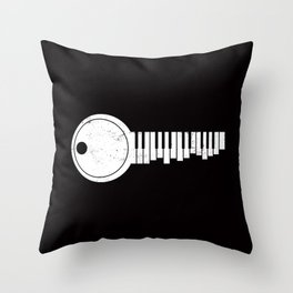 The KEYboard Throw Pillow