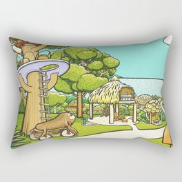 to the Sea Rectangular Pillow