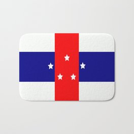 Flag of the Netherlands Antilles Bath Mat