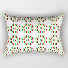 flag of Italy 6- Italy,Italia,Italian,Latine,Roma,venezia,venice,mediterreanean,Genoa,firenze Rectangular Pillow