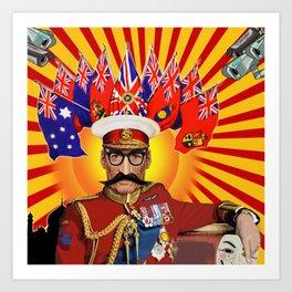 Captain Corporate Art Print