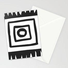 Tribal Print B&W- 02 Stationery Cards