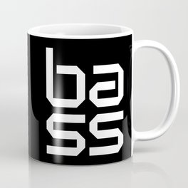 Bass Block Music Quote Coffee Mug