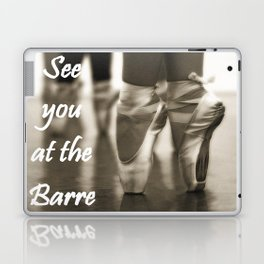 See you at the Barre Laptop & iPad Skin