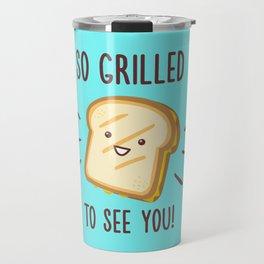 Cheesy Greetings! Travel Mug