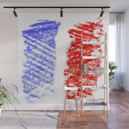 Flag of France 13- France, Français,française, French,romantic,love,gastronomy Wall Mural