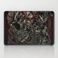 warrior iPad Cases featuring Warrior by The Sastra