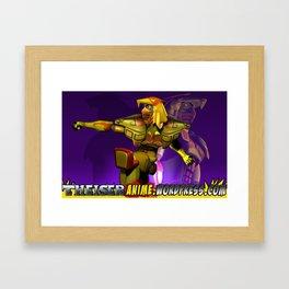 Aguila dorada 2 Framed Art Print