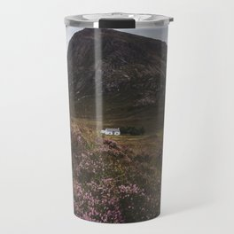 The moorland house - Landscape and Nature Photography Travel Mug
