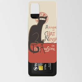 A French Ninja Cat (Le Chat Ninja) Android Card Case