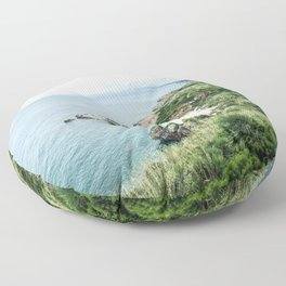 Beach - Landscape and Nature Photography Floor Pillow