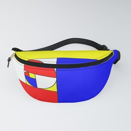 Mondrian in a Fibo-Style Fanny Pack
